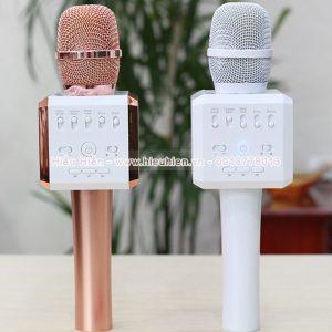 Micro karaoke tích hợp loa bluetooth Aqura K9