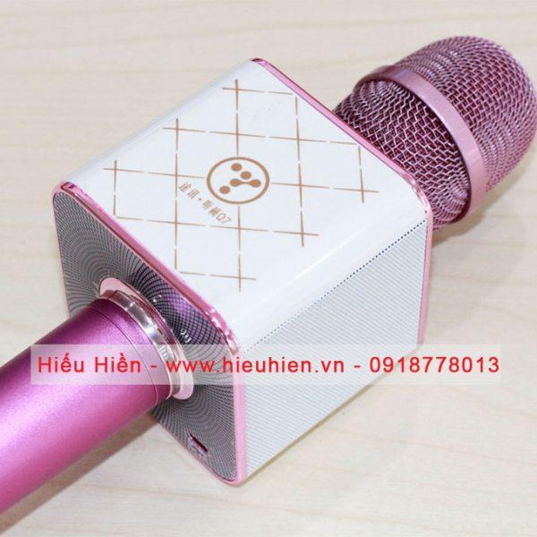 Tuxun Q7 - Micro hát Karaoke kiêm loa bluetooth 03