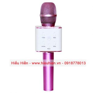 Tuxun Q7 - Micro hát Karaoke kiêm loa bluetooth 02