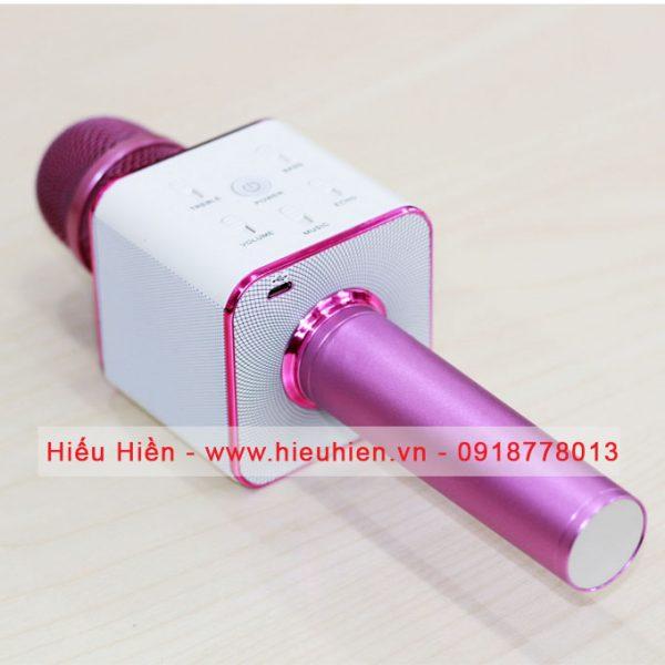 Tuxun Q7 - Micro hát Karaoke kiêm loa bluetooth 04
