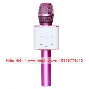 Tuxun Q7 - Micro hát Karaoke kiêm loa bluetooth 01