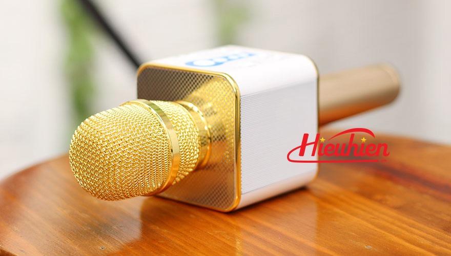 micro kem loa m1 chinh hang - mic m1 hat karaoke bluetooth cuc hay 10