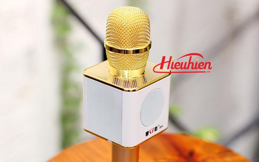 micro kem loa m1 chinh hang - mic m1 hat karaoke bluetooth cuc hay 15