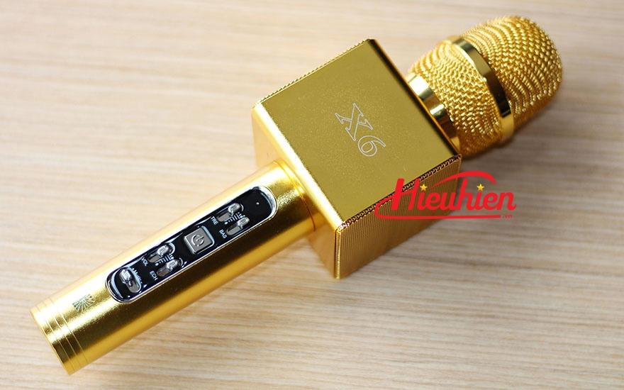Mic Kèm Loa X6 Chính Hãng, Micro Hát Karaoke Bluetooth Cực Hay 08