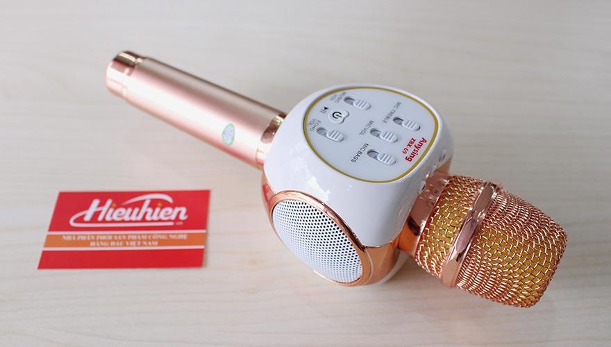 Mic Kèm Loa ZBX-69 Chính Hãng, Micro Hát Karaoke Bluetooth Cực Hay 08