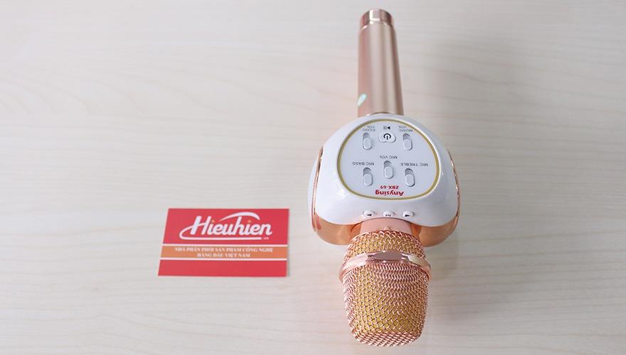 Mic Kèm Loa ZBX-69 Chính Hãng, Micro Hát Karaoke Bluetooth Cực Hay 10