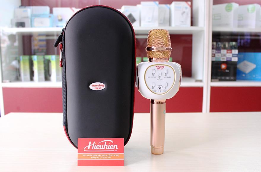 Mic Kèm Loa ZBX-69 Chính Hãng, Micro Hát Karaoke Bluetooth Cực Hay 11