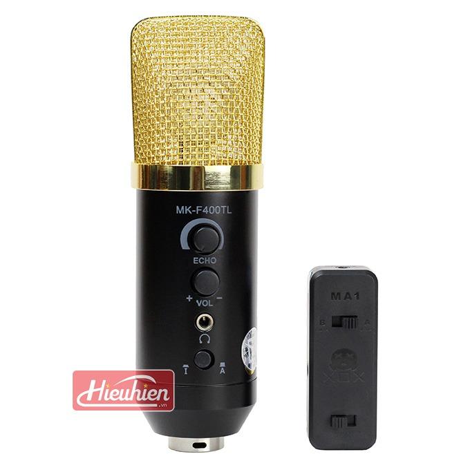 Mic MK-F400TL không cần soundcard livestream thu âm giá rẻ 0