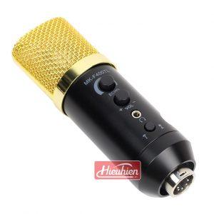 Mic MK-F400TL không cần soundcard livestream thu âm giá rẻ 01