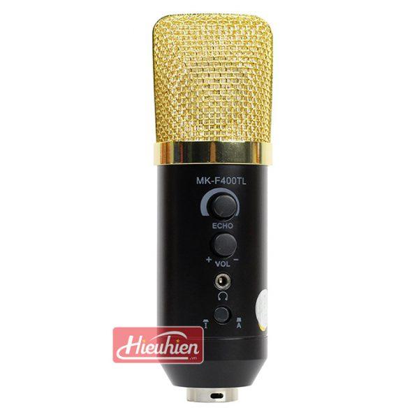 Mic MK-F400TL không cần soundcard livestream thu âm giá rẻ 02