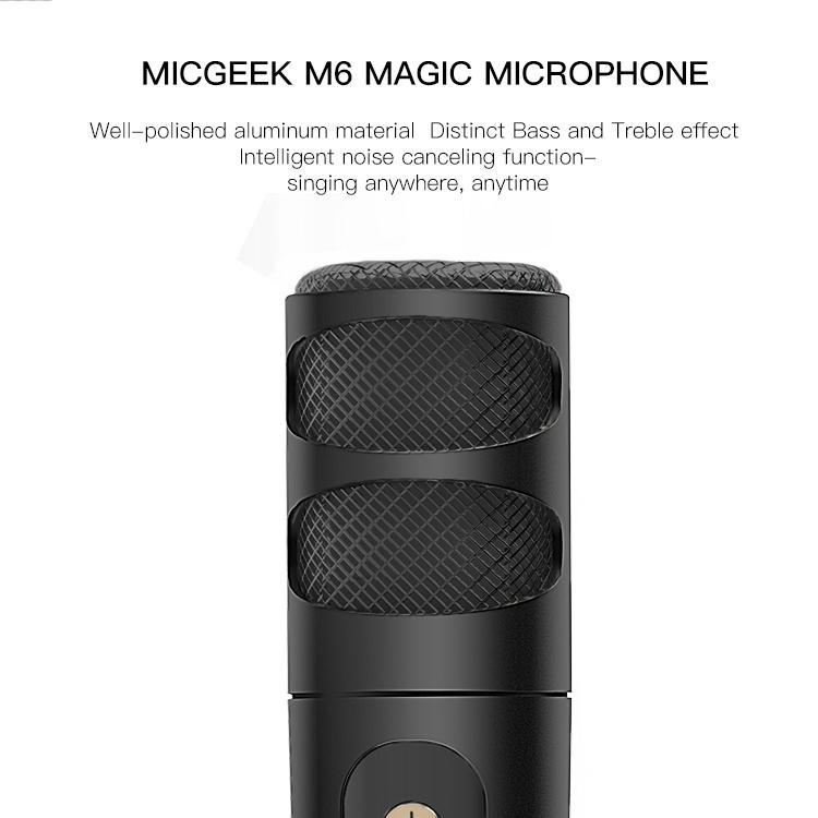 micro hát karaoke Micgeek M6