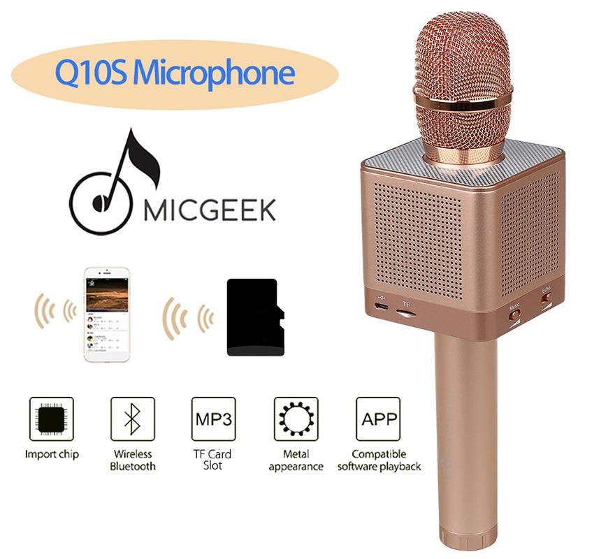 micro karaoke bluetooh kem loa micgeek q10s 12
