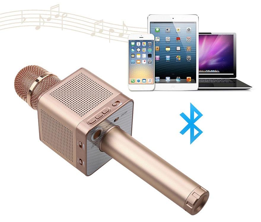 micro karaoke bluetooh kem loa micgeek q10s 16