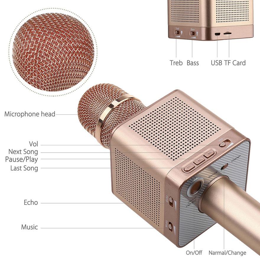 micro karaoke bluetooh kem loa micgeek q10s 18