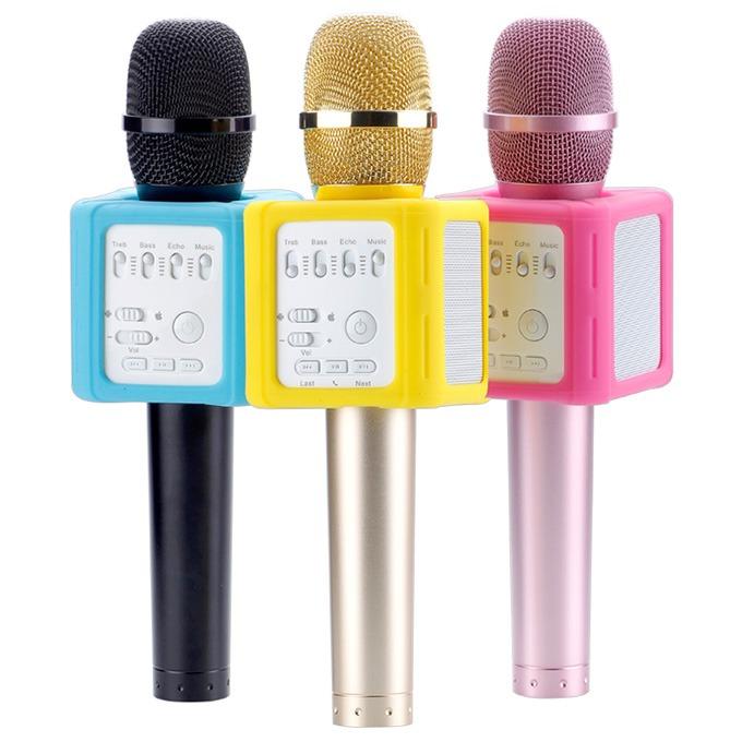 Micro Kèm Loa Micgeek Q9S Chính Hãng, Mic Hát Karaoke Bluetooth Cực Hay