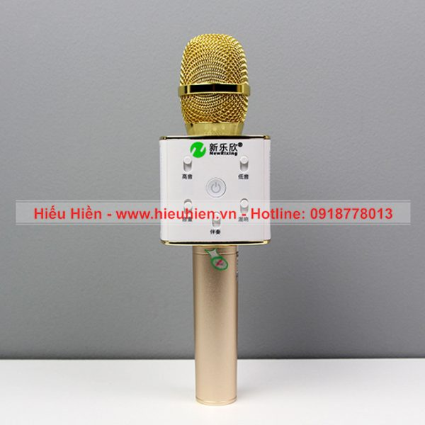 New Rixing NR-K7 - Micro karaoke kèm loa bluetooth 3 trong 1