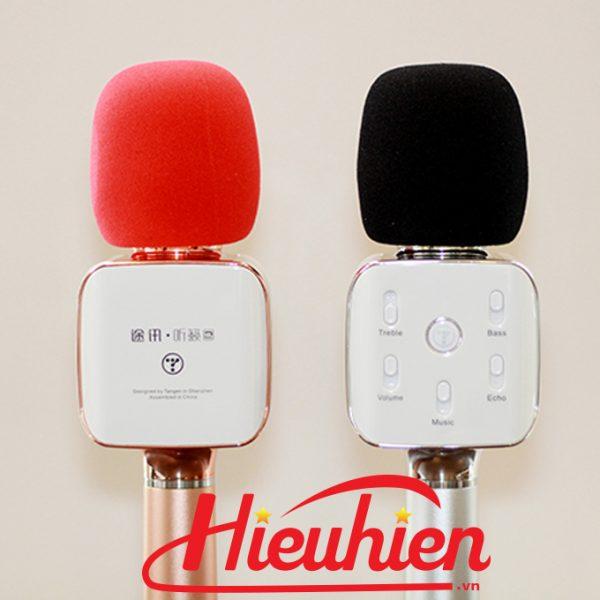 Tosing Q10 Plus micro karaoke kèm loa 3 trong 1 phiên bản USA 0