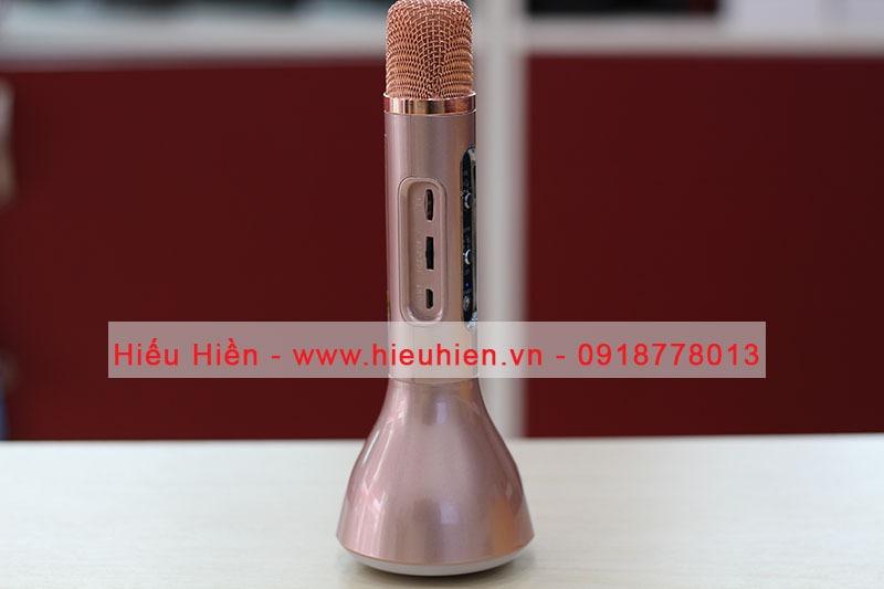 Micro kèm loa karaoke bluetooth K188 03