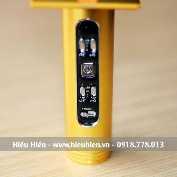 Mic Kèm Loa X6 Chính Hãng, Micro Hát Karaoke Bluetooth Cực Hay 03