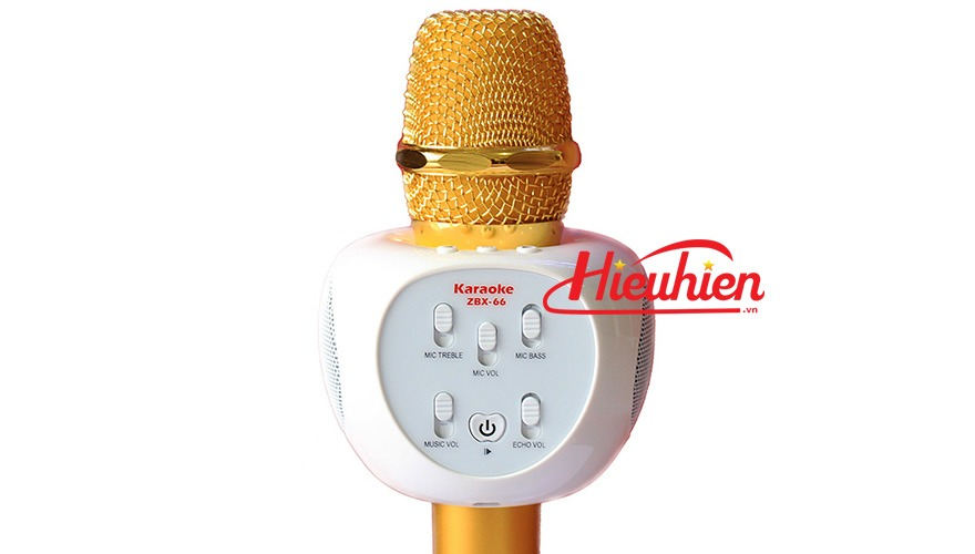 Micro Kèm Loa ZBX-66, Micro Hát Karaoke Bluetooth Cực Hay 04