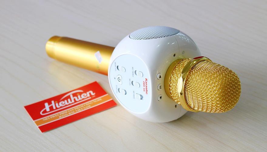 Micro Kèm Loa ZBX-66, Micro Hát Karaoke Bluetooth Cực Hay 05