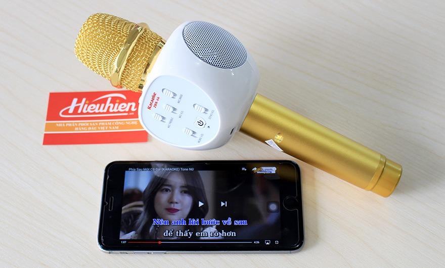Micro Kèm Loa ZBX-66, Micro Hát Karaoke Bluetooth Cực Hay 03