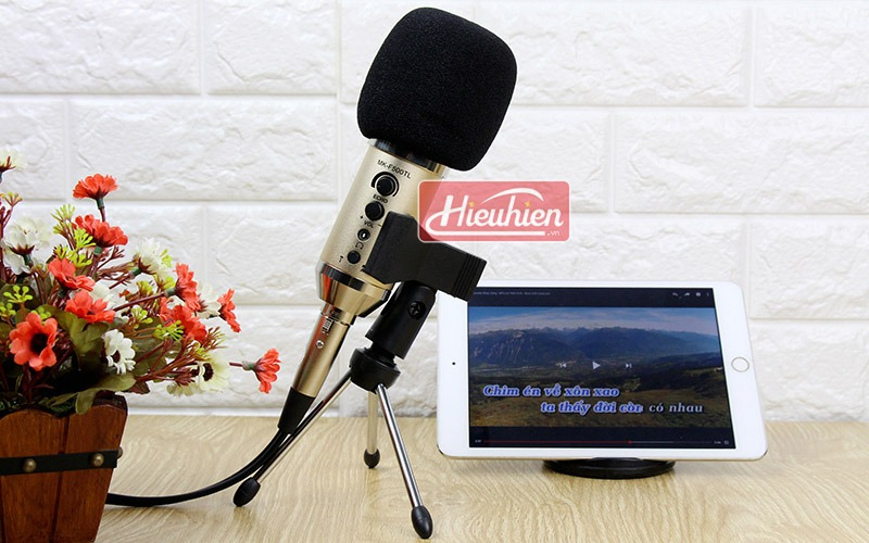 micro livestream mk-f500tl thu am karaoke khong can soundcard