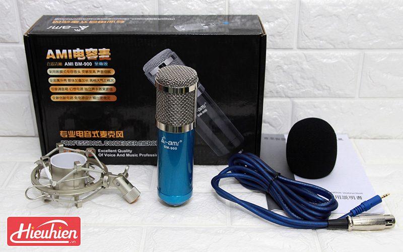 micro thu âm ami bm-900 - mic hát karaoke live stream » giá rẻ - phụ kiện