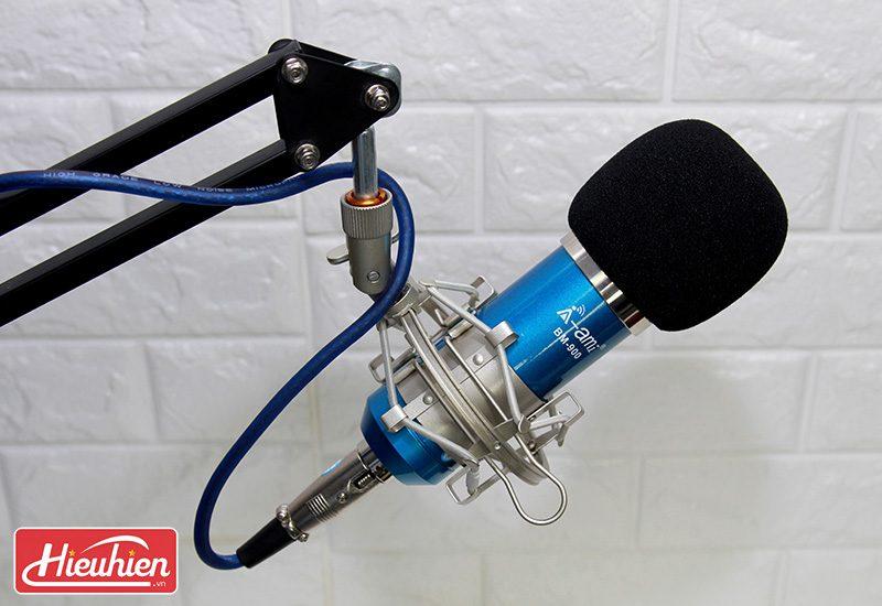 micro thu âm ami bm-900 - mic hát karaoke live stream » giá rẻ - giá đỡ