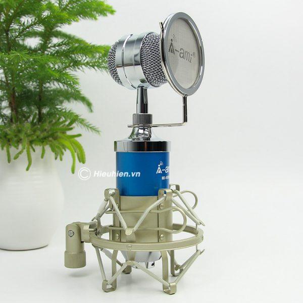Micro thu âm AMI MI-6000 hát live stream, hát karaoke chất lượng tốt, giá rẻ 04
