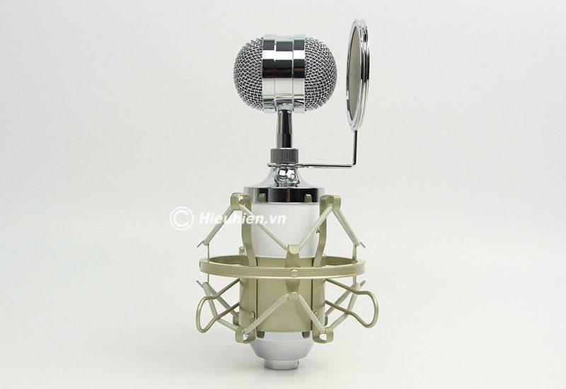 Micro thu âm AMI MI-6000 hát live stream, hát karaoke chất lượng tốt, giá rẻ - màn lọc âm