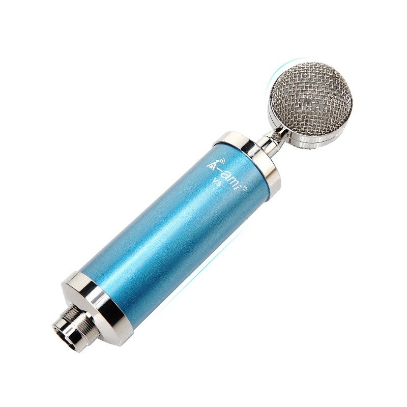 Micro thu âm AMI V9 hát live stream, hát karaoke điện thoại, máy tính