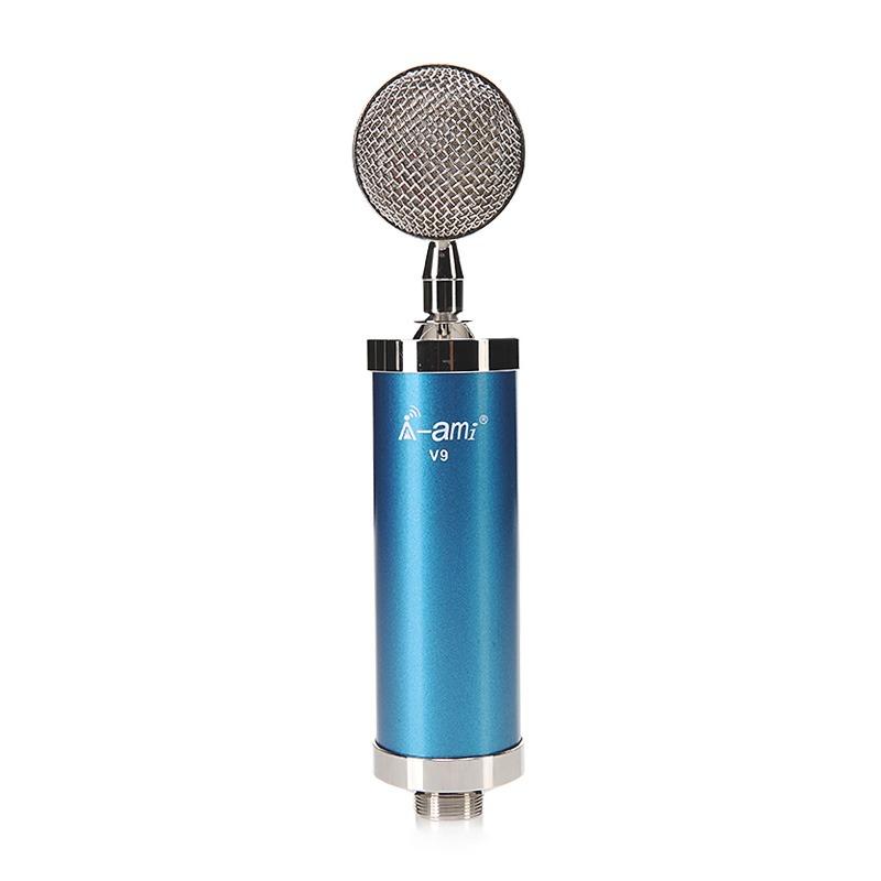 Micro thu âm AMI V9 hát live stream, hát karaoke chuyên nghiệp