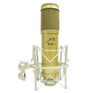 Micro thu âm AMI X9 hát live stream, hát karaoke chuyên nghiệp 0