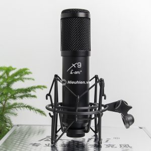 Micro thu âm AMI X9 hát live stream, hát karaoke chuyên nghiệp 01