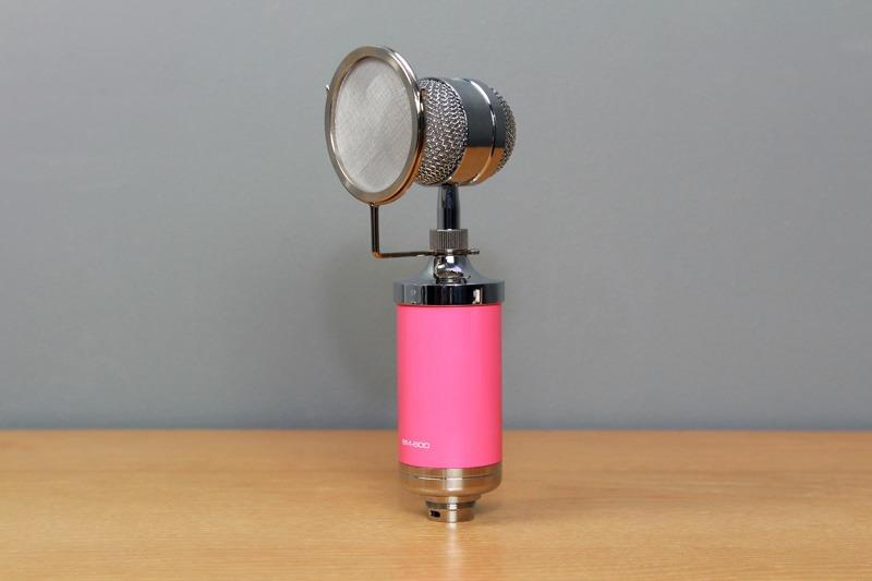 micro thu am bm-600 - mic hat karaoke live stream chinh hang, gia re