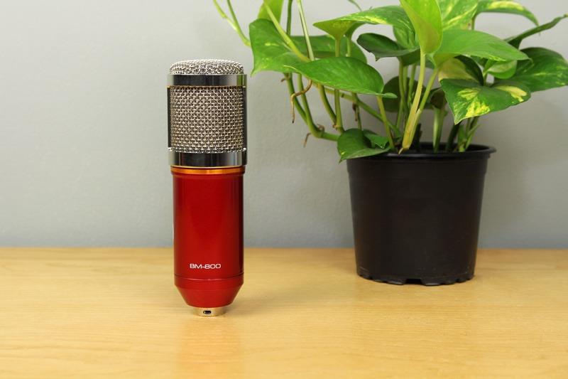danh gia micro thu am bm-800 - mic hat karaoke live stream chuyen nghiep