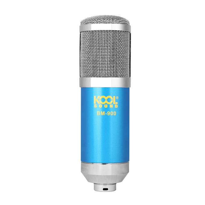 micro thu am bm-900 - mic hat karaoke, live stream chinh hang, gia re