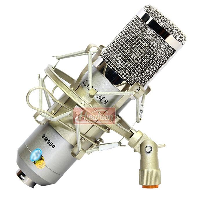 Micro Thu Âm BM-900 Langma - Mic Hát Karaoke Live Stream » Giá Rẻ 0