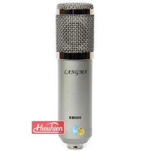 Micro Thu Âm BM-900 Langma - Mic Hát Karaoke Live Stream » Giá Rẻ 01
