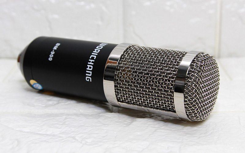 micro thu âm bm-900 woaichang - mic hát karaoke live stream - phần đầu