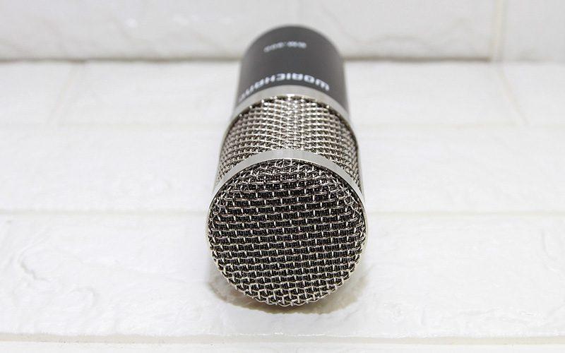 micro thu âm bm-900 woaichang - mic hát karaoke live stream - bọc thép