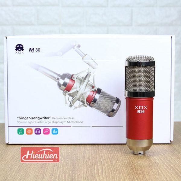 Micro Thu Âm XOX M30 - Micro thu âm chuyên nghiệp 0