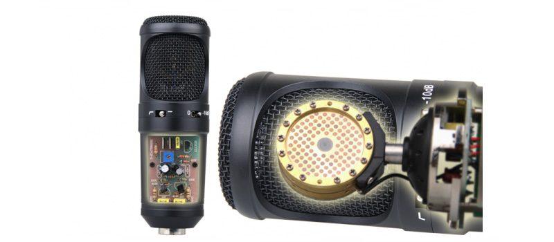 micro thu âm condenser ami x8 cao cấp, hát live stream chuyên nghiệp - cấu tạo