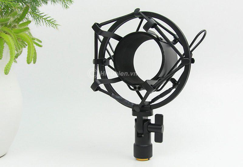 micro thu âm condenser ami x8 cao cấp, hát live stream chuyên nghiệp - shockmount