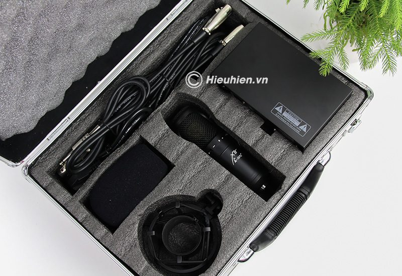 micro thu âm condenser ami x8 cao cấp, hát live stream chuyên nghiệp - trọn bộ