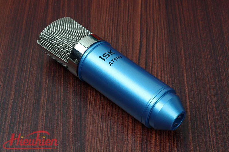 micro thu âm isk at100 - mic hát karaoke, hát live stream - logo isk