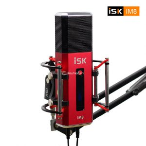 Micro thu âm ISK IM8 hát live stream, karaoke không cần Sound card 01