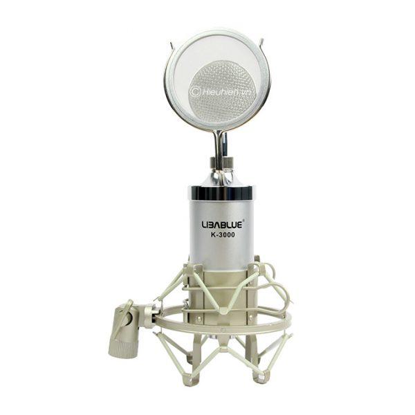 Micro thu âm Libablue K3000 hát live stream, hát karaoke giá rẻ 02