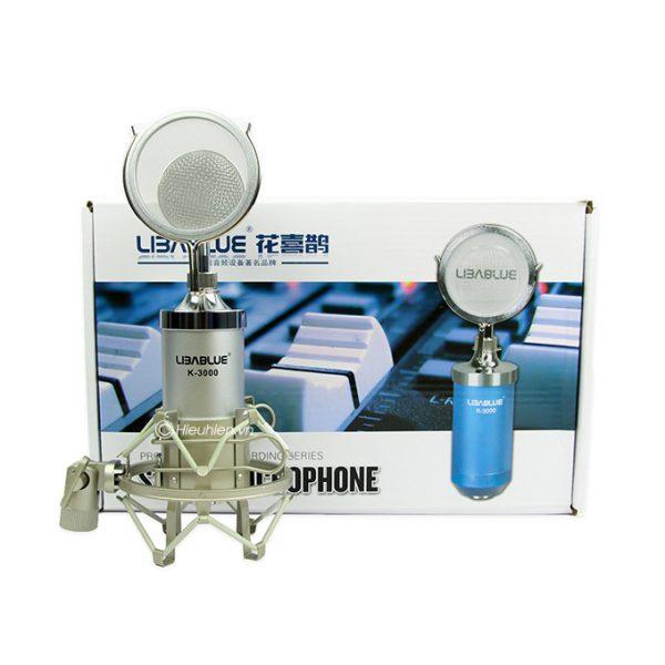 Micro thu âm Libablue K3000 hát live stream, hát karaoke giá rẻ 06